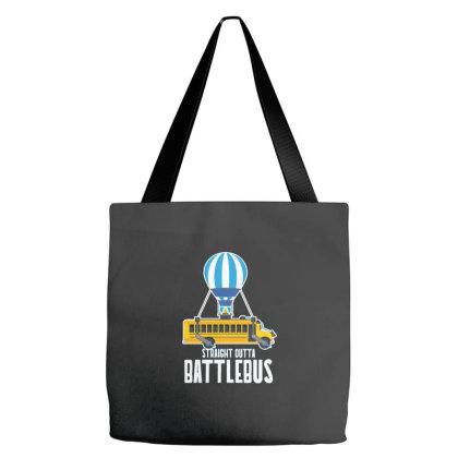 Straight Outta Battlebus Parody Tote Bags Designed By Dirjaart