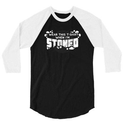 Stoned 3/4 Sleeve Shirt Designed By Dirjaart