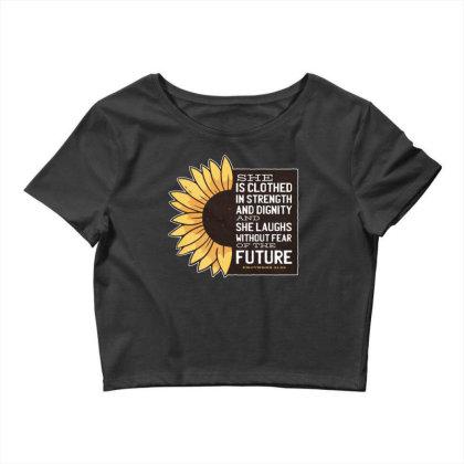 Sunflower Crop Top Designed By Dirjaart