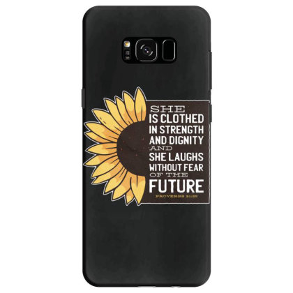 Sunflower Samsung Galaxy S8 Case Designed By Dirjaart