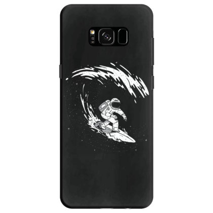 Surfing Astronaut Samsung Galaxy S8 Case Designed By Dirjaart