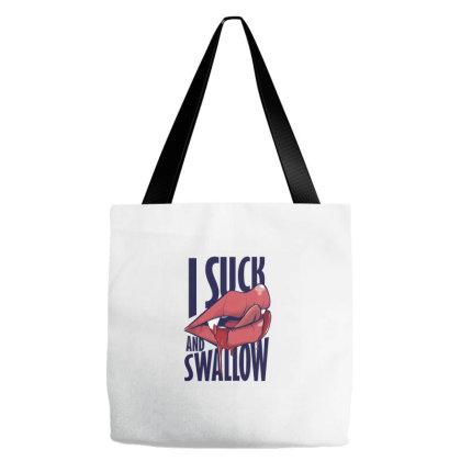 Suck And Swallow Tote Bags Designed By Dirjaart