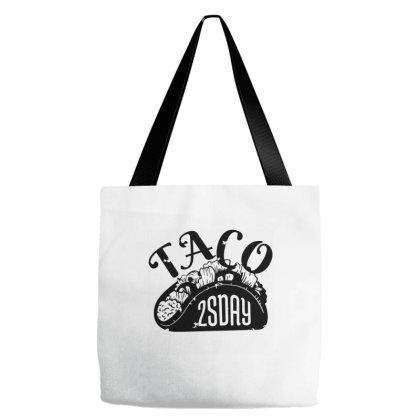 Taco Tuesday Tote Bags Designed By Dirjaart