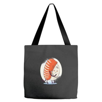 Sushi Hug Tote Bags Designed By Dirjaart