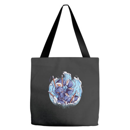 Sushi Dragon Tote Bags Designed By Dirjaart