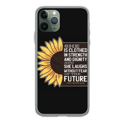 Sunflower Iphone 11 Pro Case Designed By Dirjaart