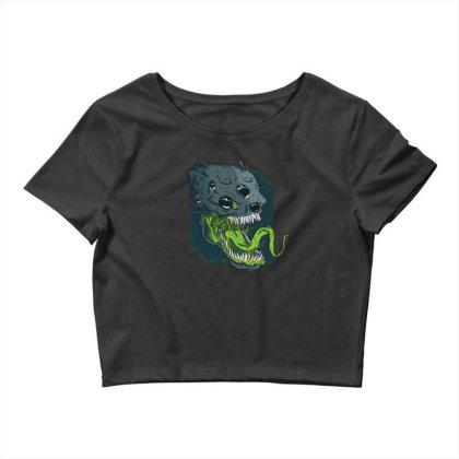 Terrifying Alien Crop Top Designed By Dirjaart