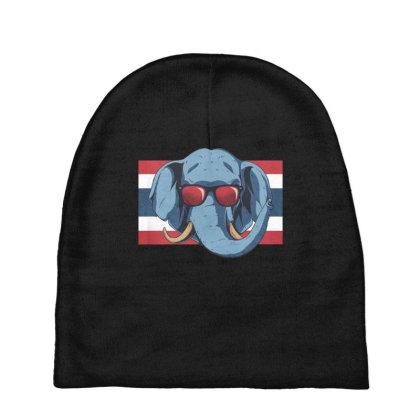 Thailand Elephant Baby Beanies Designed By Dirjaart