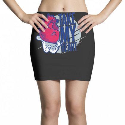 Take My Heart Mini Skirts Designed By Dirjaart