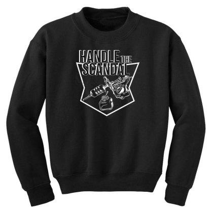Tattoo Scandal Youth Sweatshirt Designed By Dirjaart