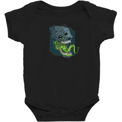 Terrifying Alien Baby Bodysuit Designed By Dirjaart