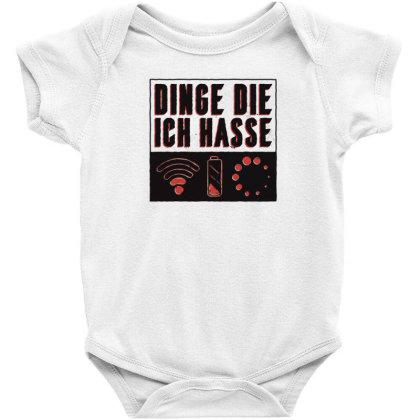 Things I Hate Baby Bodysuit Designed By Dirjaart