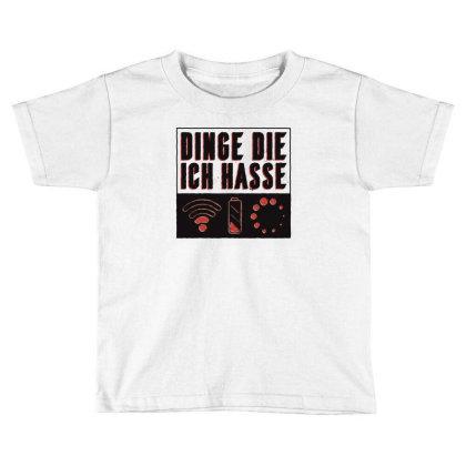 Things I Hate Toddler T-shirt Designed By Dirjaart