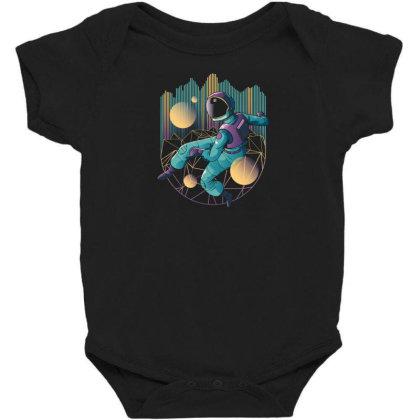 Techno Astronaut Baby Bodysuit Designed By Dirjaart