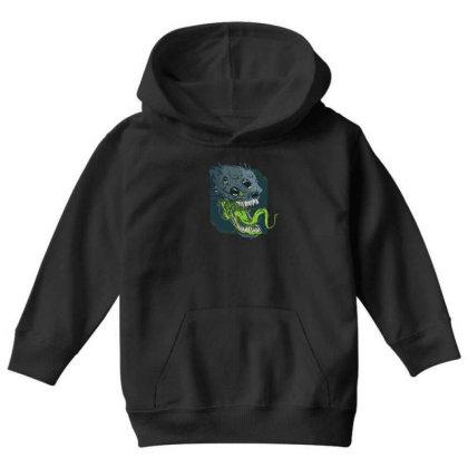Terrifying Alien Youth Hoodie Designed By Dirjaart