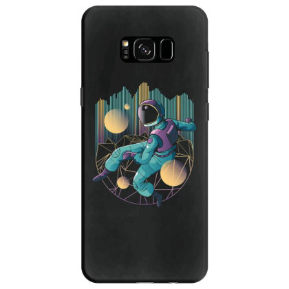 Techno Astronaut Samsung Galaxy S8 Case Designed By Dirjaart