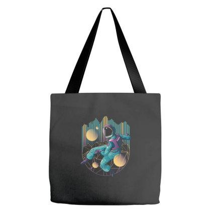 Techno Astronaut Tote Bags Designed By Dirjaart