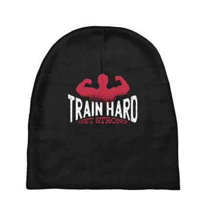 Train Hard Baby Beanies Designed By Dirjaart
