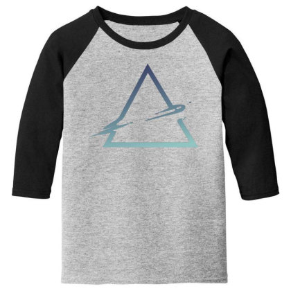 Triangle Abstract Youth 3/4 Sleeve Designed By Dirjaart