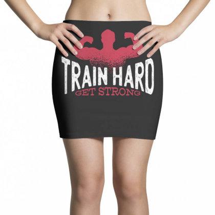 Train Hard Mini Skirts Designed By Dirjaart