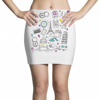 Travel Mini Skirts Designed By Dirjaart