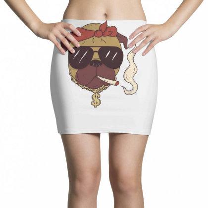 Thug Pug Mini Skirts Designed By Dirjaart