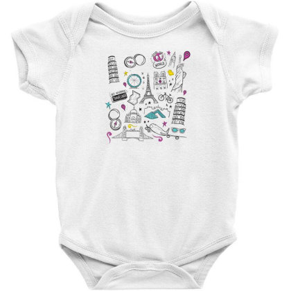 Travel Baby Bodysuit Designed By Dirjaart