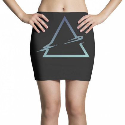 Triangle Abstract Mini Skirts Designed By Dirjaart
