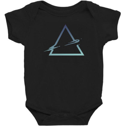 Triangle Abstract Baby Bodysuit Designed By Dirjaart