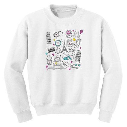 Travel Youth Sweatshirt Designed By Dirjaart
