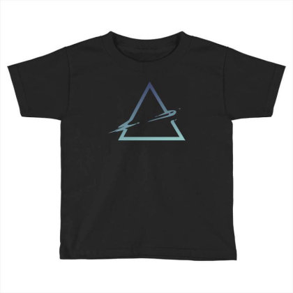 Triangle Abstract Toddler T-shirt Designed By Dirjaart