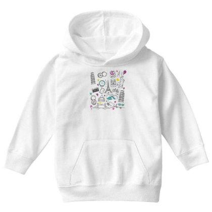 Travel Youth Hoodie Designed By Dirjaart