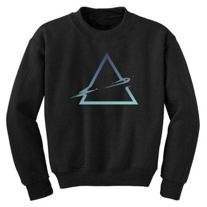 Triangle Abstract Youth Sweatshirt Designed By Dirjaart