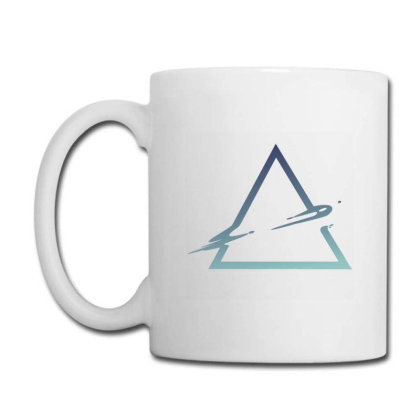 Triangle Abstract Coffee Mug Designed By Dirjaart