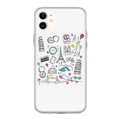 Travel Iphone 11 Case Designed By Dirjaart