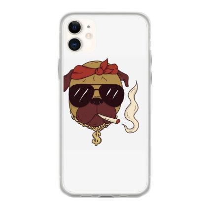 Thug Pug Iphone 11 Case Designed By Dirjaart