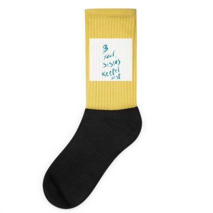 B Your Sistas Keeper Socks Designed By Kiss