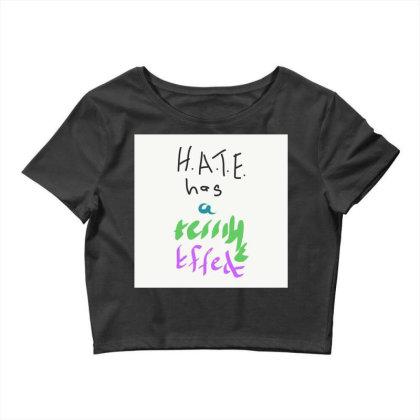 H.a.t.e Crop Top Designed By Kiss