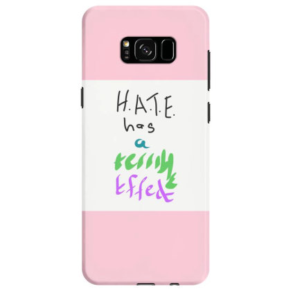 H.a.t.e Samsung Galaxy S8 Case Designed By Kiss