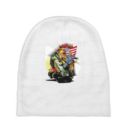 Trump Tank Baby Beanies Designed By Dirjaart