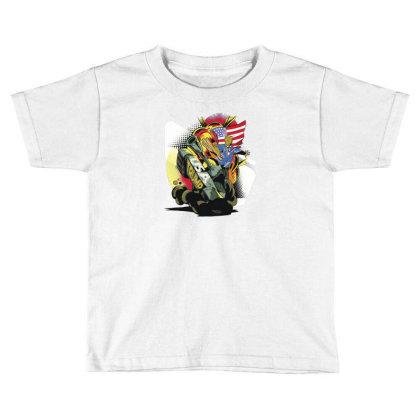 Trump Tank Toddler T-shirt Designed By Dirjaart