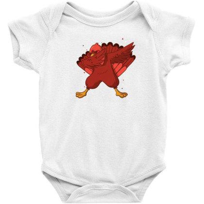 Turkey Dab Baby Bodysuit Designed By Dirjaart