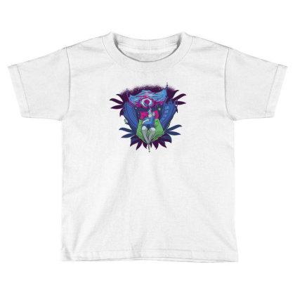 Trippy Portal Toddler T-shirt Designed By Dirjaart