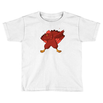 Turkey Dab Toddler T-shirt Designed By Dirjaart
