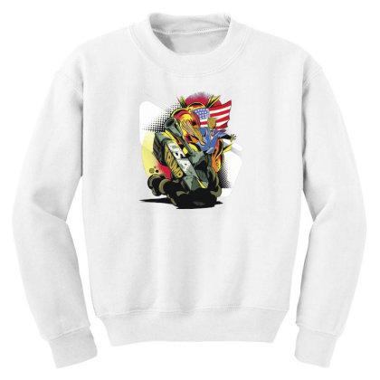 Trump Tank Youth Sweatshirt Designed By Dirjaart