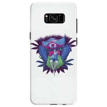 Trippy Portal Samsung Galaxy S8 Case Designed By Dirjaart
