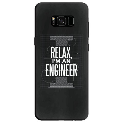 Trust Me Engineer Samsung Galaxy S8 Case Designed By Dirjaart