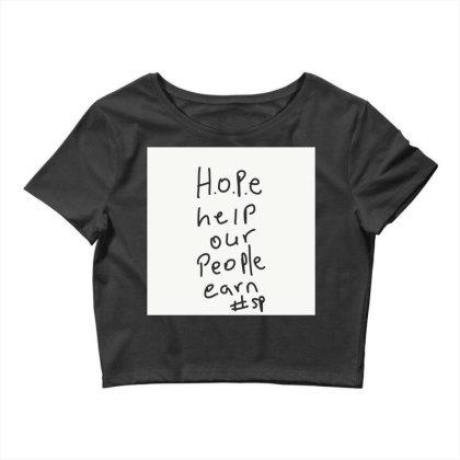 H.o.p.e Crop Top Designed By Kiss
