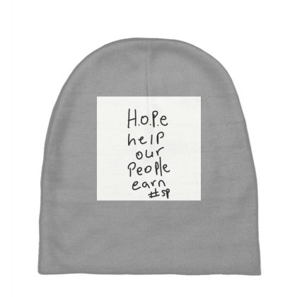 H.o.p.e Baby Beanies Designed By Kiss