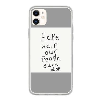 H.o.p.e Iphone 11 Case Designed By Kiss